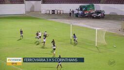 Ferroviária perde em casa para o Corinthians pelo Campeonato Brasileiro Feminino