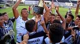 ABC vence Santa Cruz no Frasqueirão e leva penta campeonato pelo sub-15