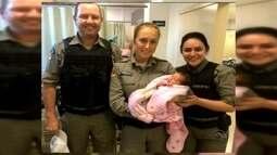 Bebês são salvos por policiais após engasgamento na região dos Vales
