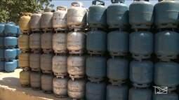 Autoridades intensificam fiscalização do comércio clandestino de gás de cozinha no MA