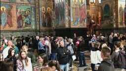 'Tô na Rússia' mostra as belezas das igrejas de São Petersburgo