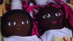 Artesã confecciona bonecas que educam e conscientizam sobre representatividade negra