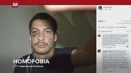 G1 em 1 Minuto - Santos: Turista gay é espancado por grupo em Santos e post viraliza