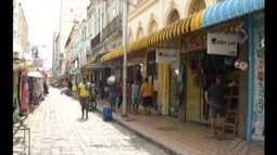 Com diminuição do movimento nas ruas do comércio em Belém donos de loja ficam com medo