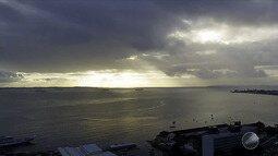 Previsão do tempo: inverno em Salvador tem volume de chuva abaixo do previsto para a época