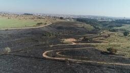 Tempo seco causa vários focos de incêndio em cidades da região de Itapetininga