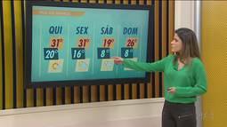 Quarta-feira de tempo seco e calor no Paraná