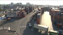 Portos de SC buscam alternativas para manter fluxo de exportação