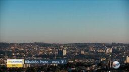 Veja a previsão do tempo para esta quinta-feira (19) em Ribeirão Preto