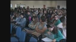 Professores participam de curso de capacitação em Chapecó