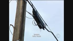 Por causa de furtos de fios de telefone, população fica sem serviços em Ituiutaba