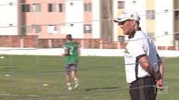 Sampaio em semana importante para jogo contra Guarani, no Castelão