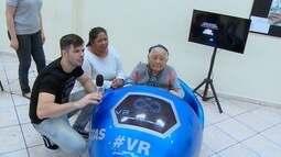 Vovózinhas muito fofas, experimentaram a realidade virtual! Será que elas se divertiram?