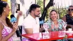 Dan e Niara conhecem um pouco mais a banda Pimenta Malagueta