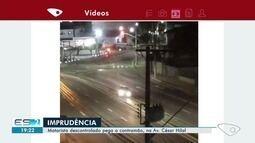VC no ESTV: vídeo mostra motorista cometendo imprudências na Av Césa Hilal, em Vitória