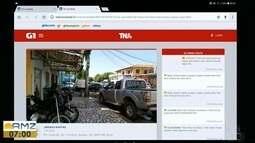 Tô na Rede: obstrução de passeio público em Macapá, no AP