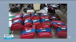 Polícia encontra malotes com documentos do Bradesco abandonados na BR-116 Norte