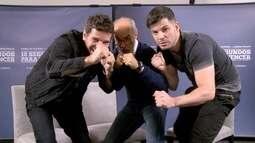 Jonas conversou com Daniel Oliveira e Osmar Prado sobre o filme 10 Segundos pra Vencer