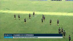 Final da Série C entre Cuiabá e Operário já começou na Arena Pantanal