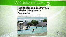 Sesc realiza Semana Move em cidades do Agreste de Pernambuco