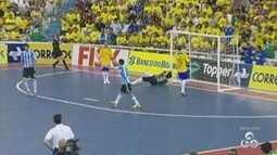 Manaus recebe amistoso de futsal entre Brasil e Argentina