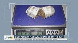 Duas pessoas são presas com porções de drogas em partes íntimas em Manaus