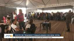 Posto de Triagem é inaugurado no bairro 13 de Setembro, em Boa Vista