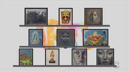 """Arte: veja as obras das exposições """"Sagrado Mágico"""" e """"Mimetismos"""""""