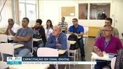 TV Rio Sul capacita técnicos do Senai-FIRJAN sobre o sinal digital