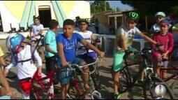 Fiéis da Padroeira do Brasil celebram dia das crianças em Mossoró