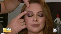Maquiador de famosas dá dicas sobre maquiagens para o trabalho