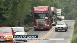 Imprudências no trânsito são flagradas em Cariacica
