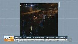 Som alto em festas incomoda moradores do Jardim Fernanda, em Campinas