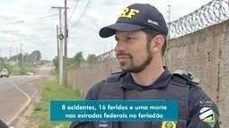 Polícia Rodoviária Federal apresenta balanço de operação feriadão