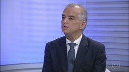 Márcio França, do PSB, é entrevistado pelo EPTV2