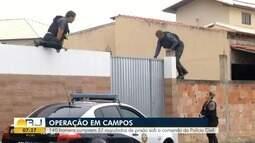 Operação cumpre mandados de prisão contra criminosos em Campos, no RJ