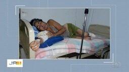 Após reportagem, paciente que precisa amputar pé é transferida, mas ainda não foi operada
