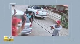 Vídeo mostra assalto em posto de gasolina de Colatina, ES