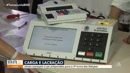 Eleições: urnas que serão usadas no 2° turno começam a ser lacradas em Salvador