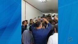 Motoristas de aplicativo fazem protesto na Câmara de Cuiabá