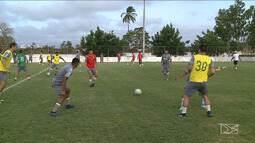 Sampaio Corrêa realiza jogo contra o Londrina