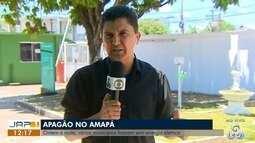 Apagão deixa municípios do Amapá sem energia elétrica