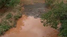 Estiagem que afeta o Rio Verde Grande chama atenção de órgãos ambientais