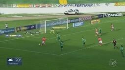 Guarani perde partida contra o Boa Esporte em Varginha