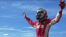 Raikkonen volta a vencer após 5 anos e adia título de Hamilton na Fórmula 1