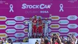 Rubens Barrichello e Átlia Abreu vencem provas na etapa de Londrina da Stock Car