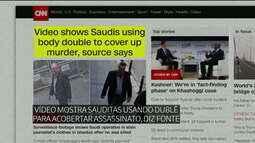 CNN: agente saudita aparece em vídeo com roupas do jornalista