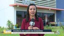 Duas pessoas são encontradas mortas numa fazenda em Chupinguaia