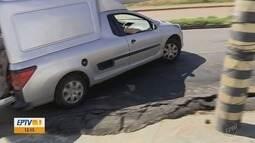 De Olho na Rua: buracos causam transtornos em avenida de Varginha (MG)