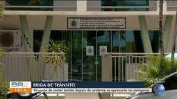 Suspeito de matar taxista após acidente se apresenta na delegacia em Ilhéus